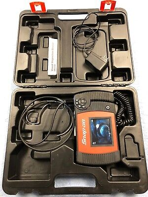 Snap On BK 6000 Borescope Bore Scope Visual Inspection Camera BK6000 in Case