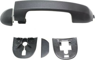 Front Driver or Passenger Side Black Exterior Door Handle for 10-11 Ford Transit