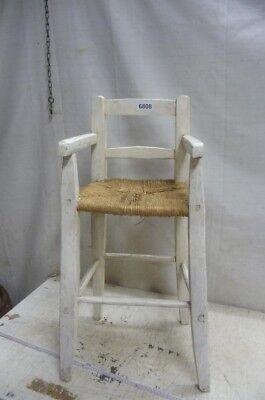 6808. Alter Biedermeier Kinderstuhl Hochstuhl Stuhl Old wooden chair