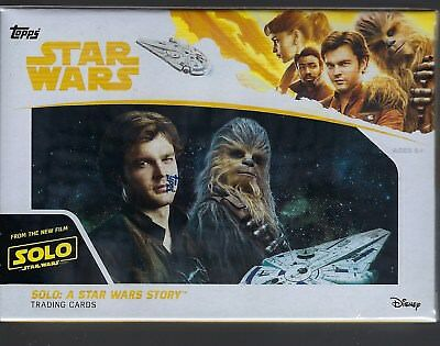 2018 Topps Solo A Star Wars Story Movie Ed. Trading Cards 61ct. Blaster Box