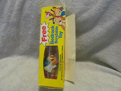 Vintage Post Cereal Bendable Barny From Flintstones Toy