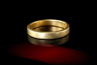 OLD TIFFANY & Co. 750 18K YELLOW GOLD BAND  A29170