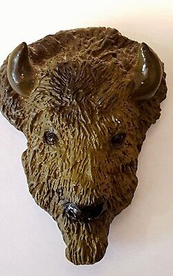 "Buffalo Refigerator Magnet by Animal Magnetism 1992 - 3"" tall"