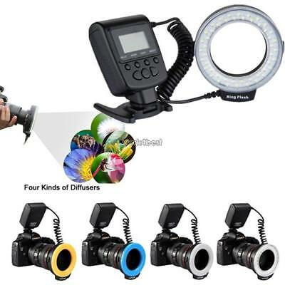 HD Macro LED Ring Flash Light for DSLR Camera WST