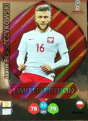 *LIMITED EDITION WORLD CUP RUSSIA 2018 aussuchen *Panini Adrenalyn XL *to choose
