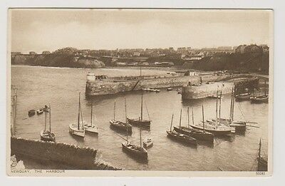 Cornwall postcard - Newquay, The Harbour (A183)