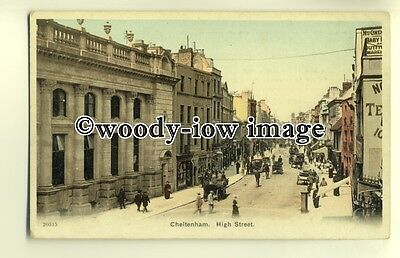 tp0381 - Glouc'shire - The High Street & Imperial Hotel in Cheltenham - Postcard