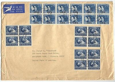 South West Africa 1946 Peace 3d 1948 Wedding 3d & 1949 UPU 3d x18 pairs on cover