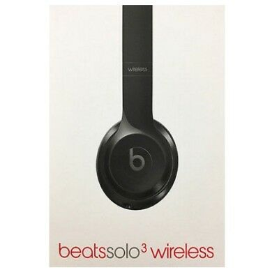 Beats By Dr. Dre Solo 3 Wireless Gloss Black Headphones