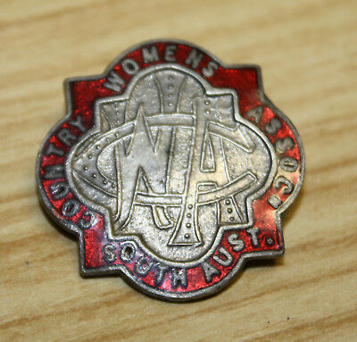 Vintage CWA Country Womens Association South Australia Badge