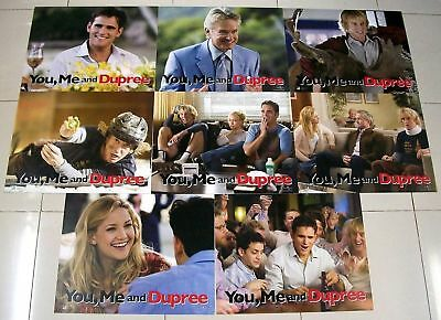YOU, ME AND DUPREE 11x14 US Lobby Cards Set of 8