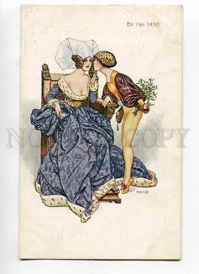 270135 Lovers of 1450 French Glamour By HEROUARD Russian Lapin