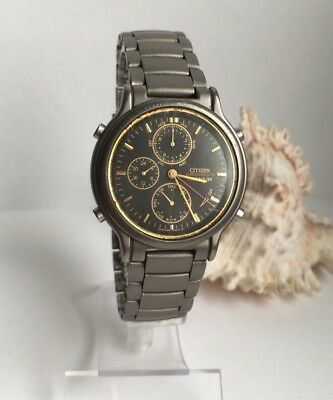 79d9e365108 CITIZEN TITANIUM CHRONOGRAPH Quartz Gents Wristwatch - £44.99 ...