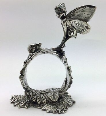 Reed & Barton 1824 COLLECTION SILVERPLATE FAIRY Napkin  NR!!!!!!