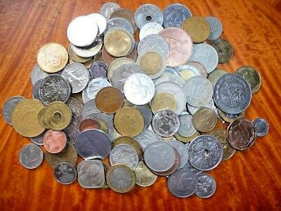 Mixed Lot of International Coins (1.25+ lb.) Current/Obsolete/Circulated #43