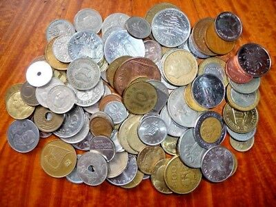 Mixed Lot of International Coins (1 lb.+) Current/Obsolete/Circulated #44