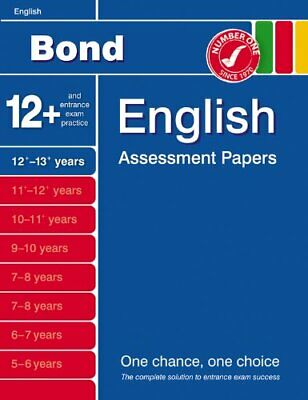 Bond Assessment Papers in English 12-13+ years: Sixth ... by Wendy Wren Pamphlet