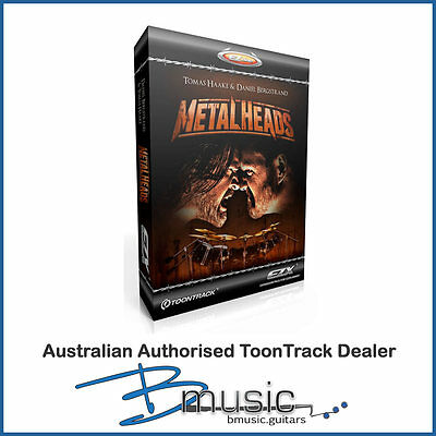 NEW ToonTrack Metalheads EZX® Expansion Pack for EZDrummer