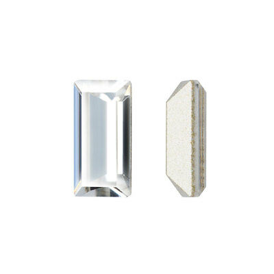 Swarovski Crystal, #4501 Baguette Fancy Stone 5x2.5mm, 4 Pieces, Crystal F