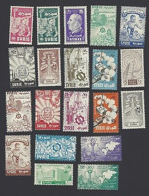 Syria 1925-58 mainly MH collection