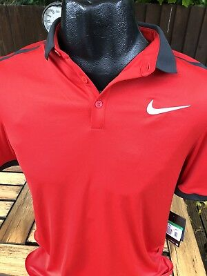 Nike Tennis Badminton Polo Shirt T-Shirt Jersey Size Small Matches Brand New