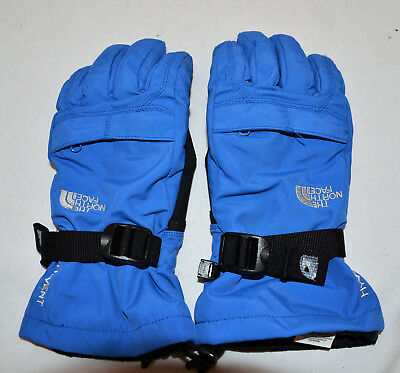The North Face HyVent Gloves Youth Junior Boys Blue Large L