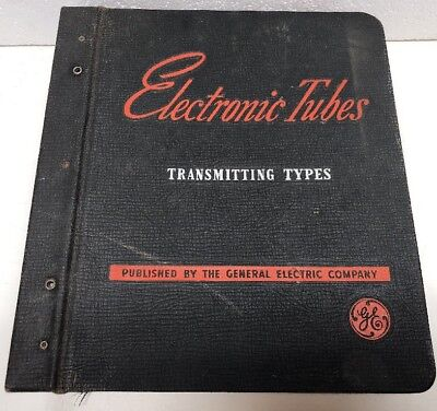 Vintage GE Electronic Tubes Transmitting Types Manual Book Hard To Find