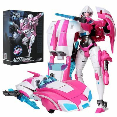 Robots Transformers Toy Alloy Fans Toys Robot Rouge Arcee Figure Gift in Box