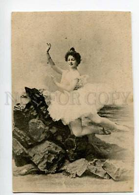 3021198 GELTZER Russian BALLET DANCER FAIRY Vintage Phototypie