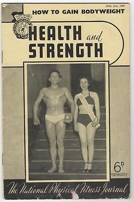 Health And Strength- 21/4/1949 - Ferrero, Ernest Albert (France)  Ron Swales,