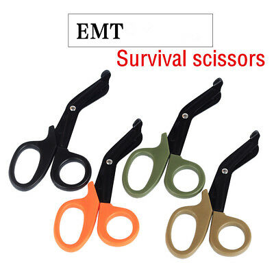 EDC Multitool Tactical Emergency Survival Rescue Scissors Outdoor Camping Hiking