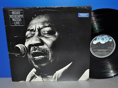 Muddy Mississippi Waters Live classic performance NL '79 Vinyl LP plays great