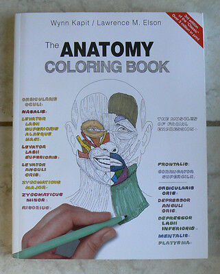 The Anatomy Coloring Book By Lawrence M Elson Wynn Kapit 4 68