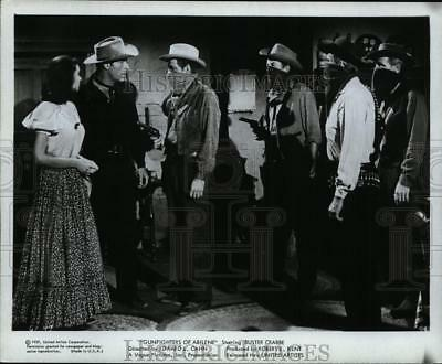 1959 Press Photo Gunfighters of Abilene starring Buster Crabbe - cvp99794