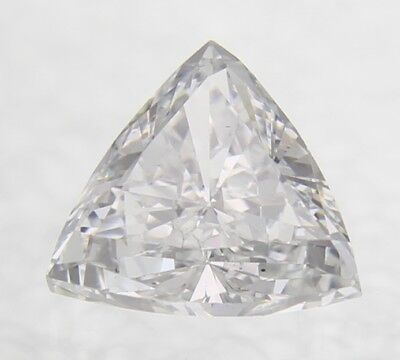0.03 Carat D Color SI1 Triangle Natural Loose Diamond for Jewelry 2.31X2.31mm