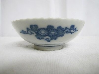 Antique Meiji 19th to 20th century Japanese Porcelain Blue & White Bowl/plate