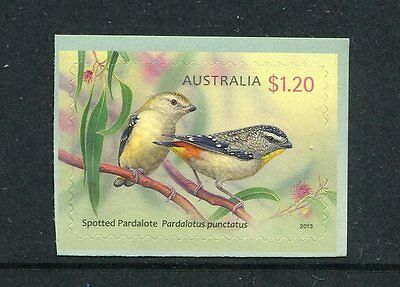 2013 Australian Pardalotes - $1.20 Booklet Stamp