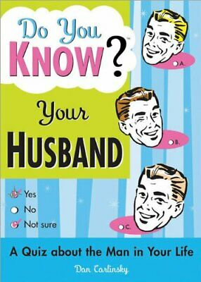 Do You Know Your Husband? by Dan Carlinsky Paperback Book The Cheap Fast Free