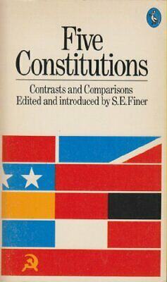 Five Constitutions: Contrasts and Comparisons (Pelican) Paperback Book The Cheap
