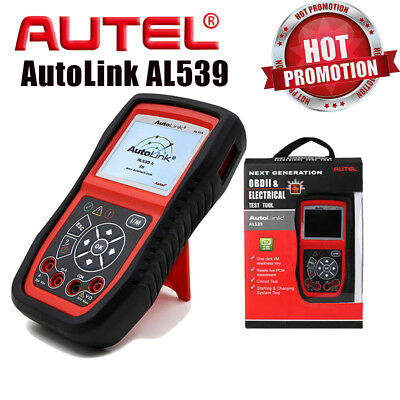 Autel AL539 Auto OBD2 CAN Code Reader Scanner Quick DIY Diagnostic Tool with I/M