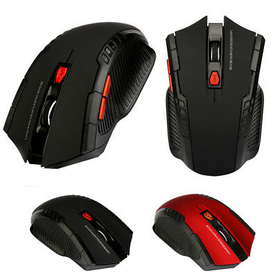 2.4Ghz Mini Wireless Optical Gaming Mouse Mice& USB Receiver For PC Laptop