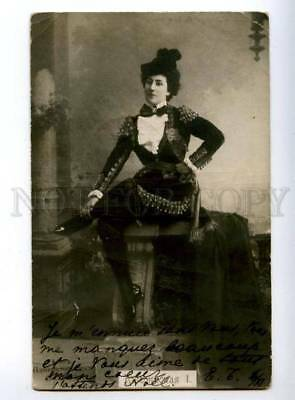 150390 KSCHESSINSKA I Russian BALLET Star DANCER Vintage PC