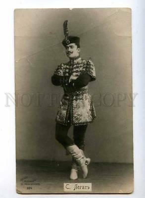 193487 Sergei LEGAT Russian BALLET Dancer Vintage photo PC