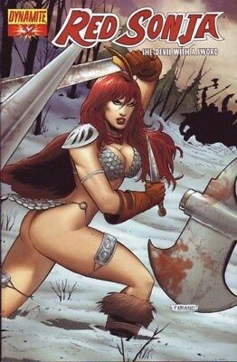 Red Sonja Vol. 1 (2005-2013) #32 (Fabiano Neves Variant)