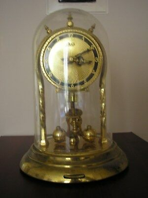 ,Aug, Schatz & Sohne, 2 Jewel, 400 day  Domed Anniversary Clock, Repair / spares