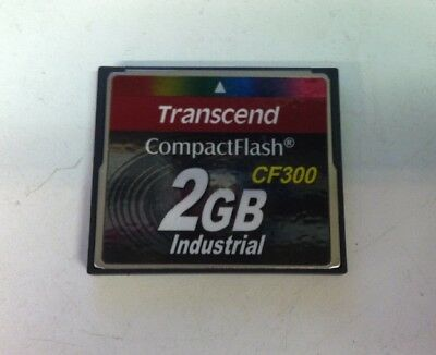 Transcend CF300 Industrial 2 GB Compact Flash Memory Card 43469108498322AD0U5RF