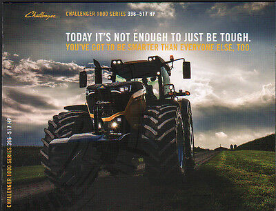 """AGCO Challenger """"1000 Series"""" 396-517hp Tractor Brochure Leaflet"""