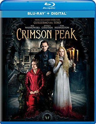 Crimson Peak(Br+Dc)  DVD NEW