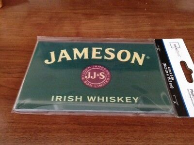 Jameson Irish Whiskey Print In 4X6 Acrylic Magnetic Frame