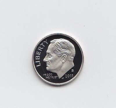 2018-S Proof Roosevelt Dime, Clad Deep Cameo Proof